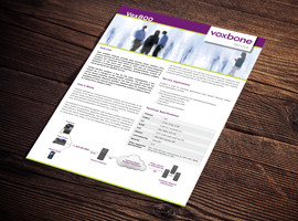 Vox800 Toll-Free Brochure